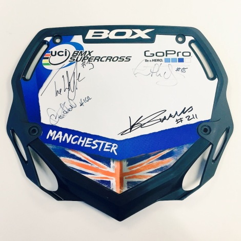 WIN! with the UCI BMX Supercross World Cup Manchester